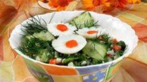 Календула в салате