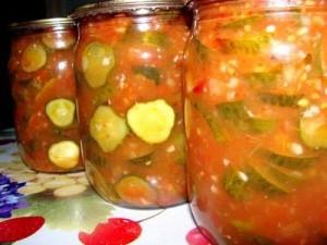 Салат из огурцов и перцев на зиму Р от НЧ